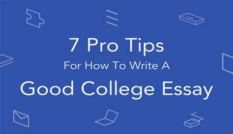 College application essay help online successful